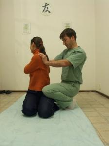 masszázsterápia